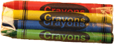 Cello Pack Crayons