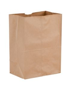 1/6 52# Brown Grocery Bags (500ct)