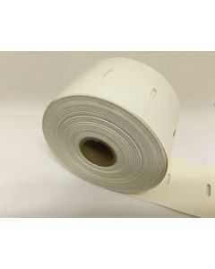 """2.25"""" x 1.35"""" Direct Thermal Hang Tag;  1"""" Core;  12 Rolls/case;  967 Labels/roll   *Clearance Item*"""