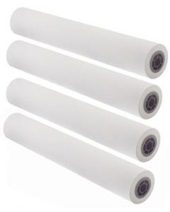 "18"" x 150' - 20# CAD Inkjet Bond Paper, 2"" Core (4 rolls/carton) - 92 Bright"