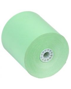 "3 1/8"" x 230' Thermal Paper (50 rolls/case) - Green"