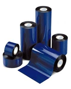 "4.09"" x 508'  TR4085plus Resin Enhanced Wax Ribbons;  1"" core (24 rolls/carton) - plastic core"