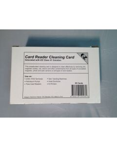 Card Reader Cleaning Swipe Cards  (50 cards)