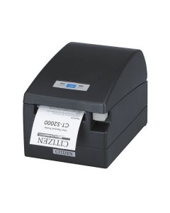 Citizen CT-S2000, Thermal POS Printer, 80mm, 220 mm/Sec, 42 col, Serial & USB, Internal Power Supply - White