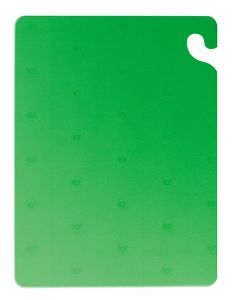 "Cut-N-Carry Color Cutting Board - Green - 12"" x 18"" x .50"""