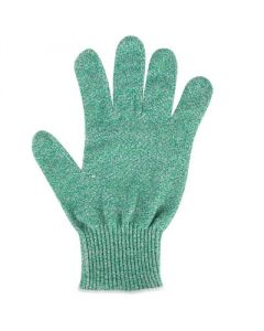 Cut Resistant Glove w/Dyneema - Level 5 - Green - L