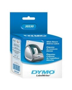 "Dymo .75"" X 2"" White Return Address Label 500"