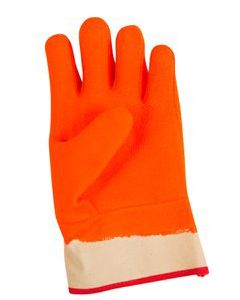 Frozen Food Glove w/Safety Cuff - Protects to 0F - Orange