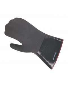 "Fryer Neoprene Oven Mitt - Protects to 500F 14"" Length"