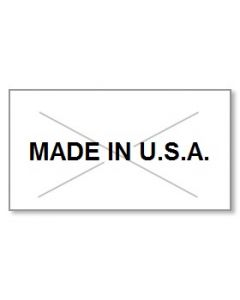 """Garvey G 2216 Pricing Labels (1 Case = 20 sleeves @ 9,000 labels/sleeve = 180,000 labels) - White/Black - """"Made In USA"""""""