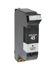 HP 51645A #45 Compatible Inkjet Cartridge (830 page yield) - Black