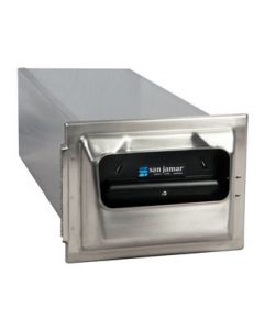 In-Counter Fullfold Napkin Classic Face - Stainless Steel