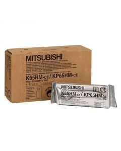 110mm x 20m Ultrasound Paper for Mitsubishi KP-65HM-ce (5 rolls/box)