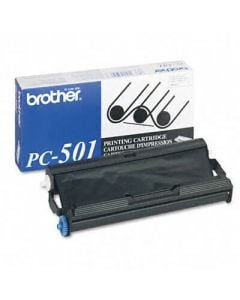Brother PC-501 Thermal Print Cartridge - Black