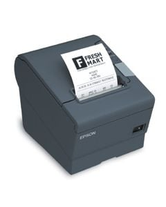 Epson TM-T88V, Thermal Receipt Printer - Energy Star Rated, Epson Dark Gray, USB & Serial Interfaces, PS-180 Power Supply, Requires A Cable
