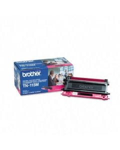 Brother TN115M High-Yield Toner, 4000 Page-Yield, Magenta
