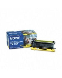 Brother TN115Y High-Yield Toner, 4000 Page-Yield, Yellow