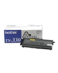 Brother TN330 Toner, 1500 Page-Yield, Black