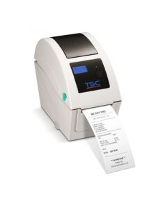 "TSC TDP-225W direct thermal wristband printer, 203 dpi, 5 ips, 6.5"" OD, includes LCD display, Ethernet, USB"