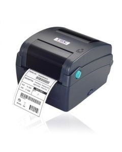 TSC TTP-244CE Advanced Thermal Transfer Printer, 203 dpi, 4 ips (navy) with 4 ports - Ethernet, USB, Parallel, Serial