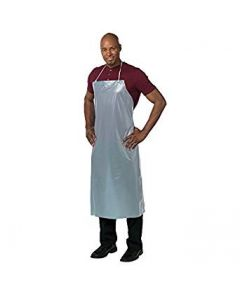 Vinyl Dishwashing Apron - Clear - 12 Mil