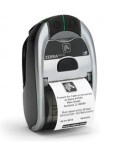 Zebra iMZ220 Portable Label Printer, Dual radio 802.11a/b/g/n and BT, US Power Plug