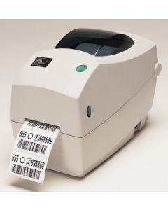 Zebra TLP2824 Plus Desktop Label Printer with USB and Serial Connectivity, Extended Memory and Real Time Clock